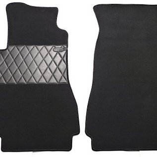 Mercedes-Benz W123 Sedan Carpet set interior loop cognac
