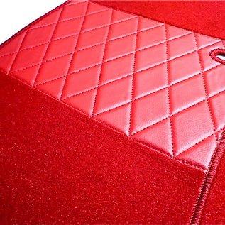 Alfa Romeo Giulia Bertone GT GTJ GTV 1963-1969 Jeu de moquette interieur velours rouge