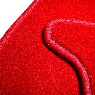 Alfa Romeo Giulia Bertone GT GTJ GTV 1963-1976 Jeu de moquette de coffre velours rouge