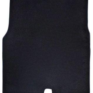 Fiat 2300 S Coupe Carpet mat trunk velours black + semi-leather trimming