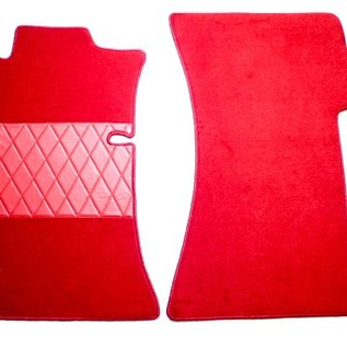 Mercedes-Benz W111 Coupe 220 250 280 SE 1961-1969 Carpet set interior velours red