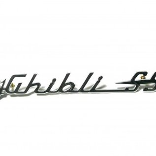 Maserati Ghibli 1969-1973 Sigle Ghibli SS
