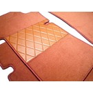 Floor mat set premium loop cognac Mercedes W111 220 S SE 230 S Fintail 1959-1968