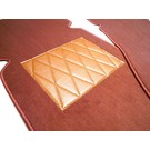 Floor mat set premium velours cognac Mercedes W111 220 S SE 230 S Fintail 1959-1968