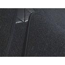 Jeu de moquette interieur boucle gris foncé + contours en Nubuck Fiat 124 Sport Spider 1967-1978