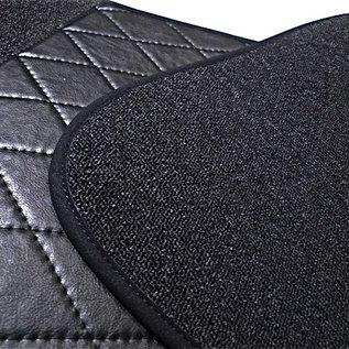 BMW E9 2500 2800 3.0 CS CSi Floor mat set premium loop dark grey + nubuck binding