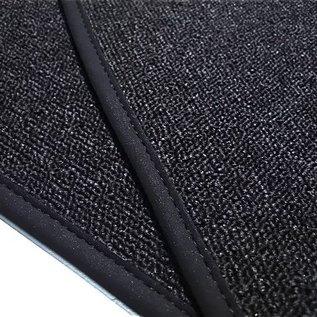 BMW E9 2500 2800 3.0 CS CSi Trunk carpet mat loop dark grey + nubuck binding