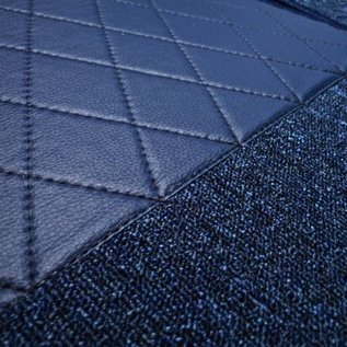 Mercedes-Benz W111 Coupe 220 250 280 SE 1961-1969 Carpet set interior loop dark blue