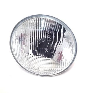 Fiat 124 Sport Coupe BC + CC Headlight outer Carello H1 136 mms.