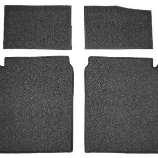 BMW E9 2500 2800 3.0 CS CSi Carpet set interior velours dark grey + nubuck