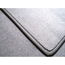 Trunk carpet mat velours grey + nubuck binding BMW E9 2500 2800 3.0 CS CSi