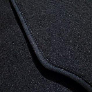 BMW E9 2500 2800 3.0 CS CSi Trunk carpet mat velours dark grey + nubuck binding