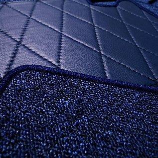 Mercedes-Benz W111 Fintail 220 + S + 230 1959-1968 Carpet set interior loop dark blue