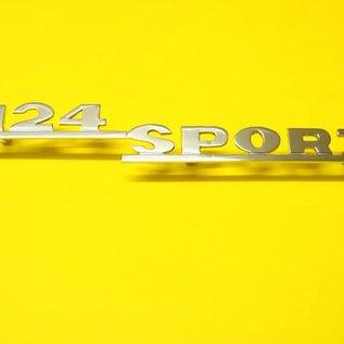 Fiat 124 Sport Spider AS BS CS Script 124 Sport
