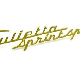 Alfa Romeo Giulietta Sprint Speciale Script fender