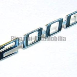 Alfa Romeo Bertone GTV 2000 Script rear 2000