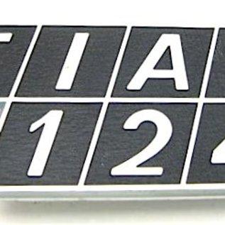 Fiat 124 Berline 1970-1974 Sigle