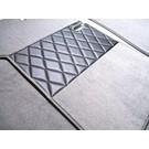 Carpet set interior velours grey + nubuck BMW 1500 1600 1800 2000 4 dr. 1962-1972 - Copy
