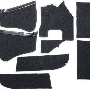 BMW 1500 1600 1800 2000 4 dr. 1962-1972 Carpet set interior loop black