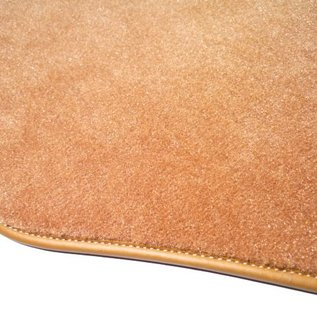 Mercedes-Benz W116 S + SE 1972-1980 Carpet set interior velours medium tan + semi-leather
