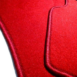 Mercedes-Benz W116 SEL 1973-1980 Carpet set interior velours red