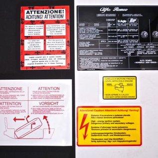 Alfa Romeo Alfetta GTV GTV6 Autocollants