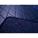 Carpet set interior loop dark blue Fiat 124 Sport Coupe BC + CC