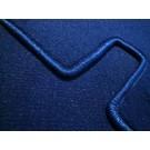 Trunk mat velours dark blue Fiat 124 Sport Coupe AC BC 1967-1972