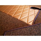 Carpet set interior loop dark brown Mercedes-Benz W111 Coupe 220 250 280 SE 1961-1969 - Copy - Copy