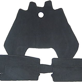 Mercedes-Benz W111 Coupe 220 250 280 SE 1961-1969 Carpet set interior loop black