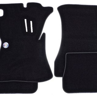 Alfa Romeo Giulia + Ti + Super Sedan 1962-1969 Floor mat set velours ALFA ROMEO