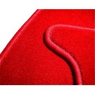 Carpet set trunk velours red BMW E10 1502 1602 1802 2002
