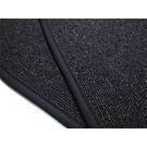 Trunk carpet mat loop dark grey + nubuck binding BMW 1500 1600 1800 2000 1962-1972