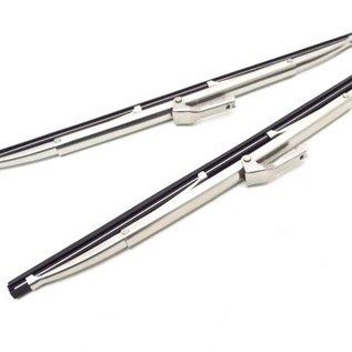 Fiat 500 D 600 D 1100 1200 103 Wiper blade set bayonet, Inox, 5,4 x 280 mms.