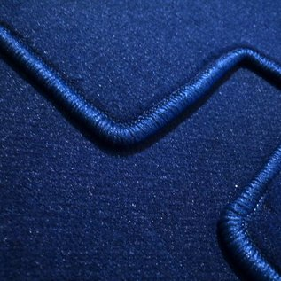 Peugeot 404 Sedan 1960-1975 Carpet set interior velours dark blue