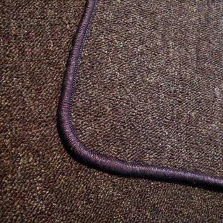 Peugeot 404 Sedan 1960-1975 Carpet set interior loop dark brown