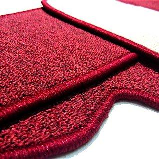 Peugeot 404 Sedan 1960-1975 Carpet set interior loop dark red