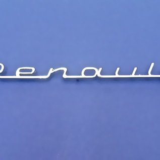 Renault Floride + Caravelle Script front fender Renault