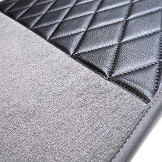 Fiat 2300 S Coupe Carpet set interior velours grey+ nubuck trimming