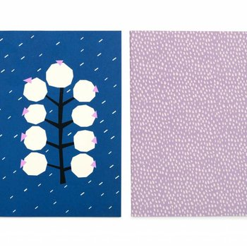Darling Clementine Set van 2 notitieboeken Rainy