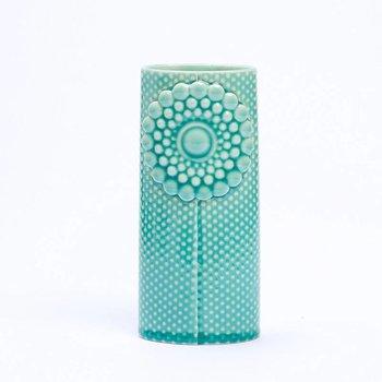 Finnsdottir Ovale Vaas Pipanella Dotted Turquoise