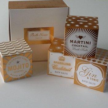 Bath House Badzout Cocktail Collection Geschenkdoos
