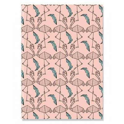 Notebook A5 Flamingo