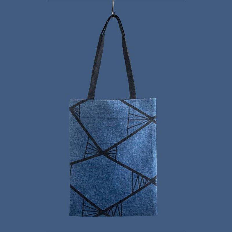 Tas Pure Graphic Blauw