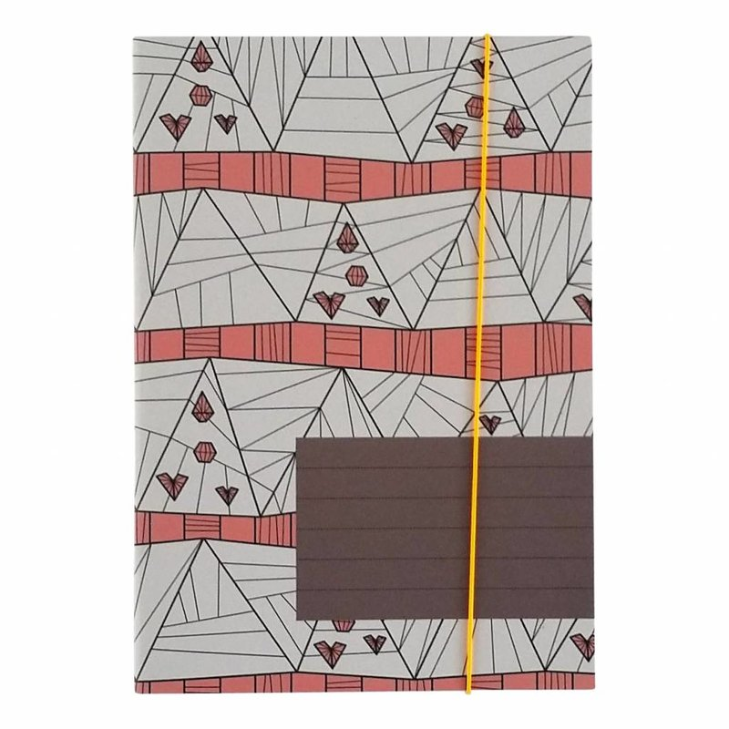 Notebook A6 'in to the woods'