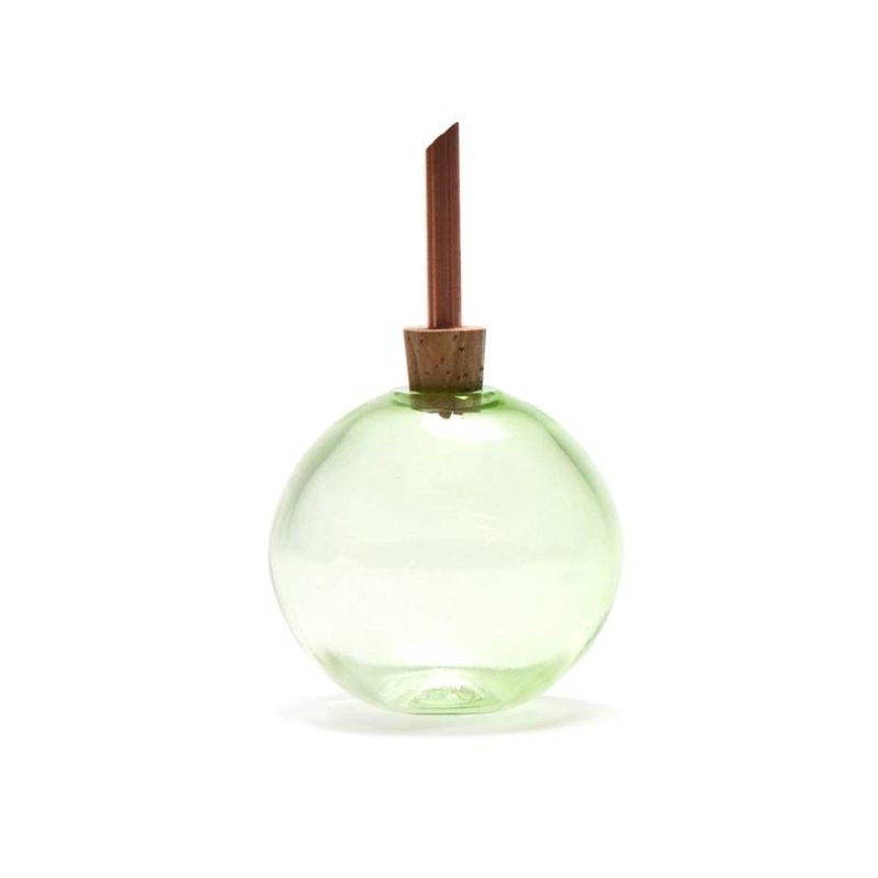 Scandinaviaform vaasje Glasilium - groen