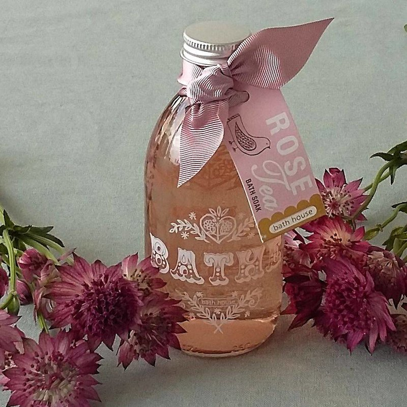 Bath Soak Rose Tea