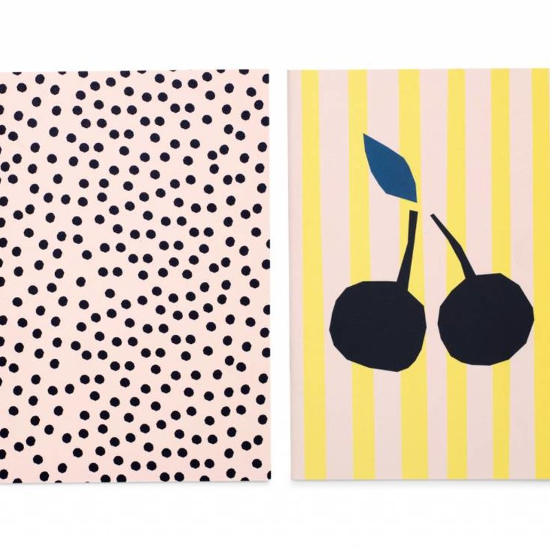 Set van 2 notitieboeken Dotty