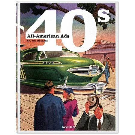 All American Ads of the 40's