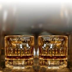 Whisky Glas Provenza met gravering